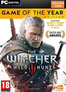 The Witcher 3: Wild Hunt - Game of the Year Edition @ Steam
