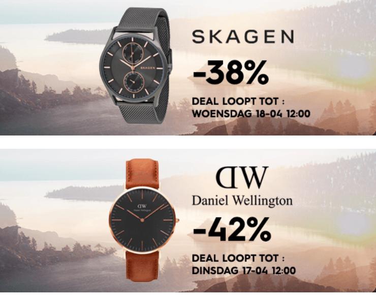 Daniel Wellington en Skagen