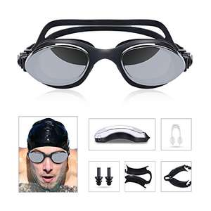 Swimming Goggles Glasses Anti-fog 100% UV protection @Amazon.de
