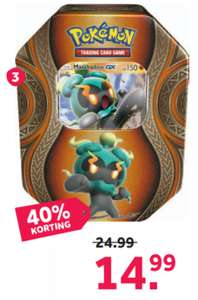 Pokémon TCG kaarten Mysterious Power tin voor 14.99 @ Intertoys