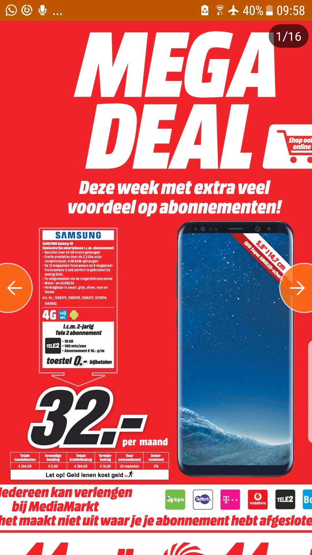 Samsung S8 Tele2
