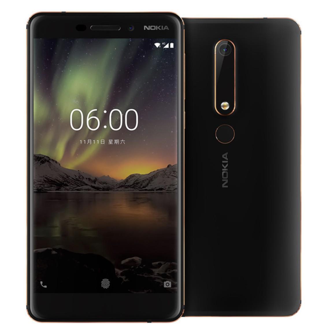 Nokia 6 32GB (2018) voor €249 @ Media Markt