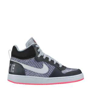 Nike Court Borough Mid girls sneakers €22,95 @ Wehkamp