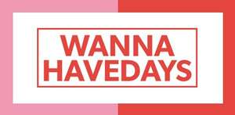 Wanna havedays van donderdag 19 t/m maandag 23 april @ Wehkamp