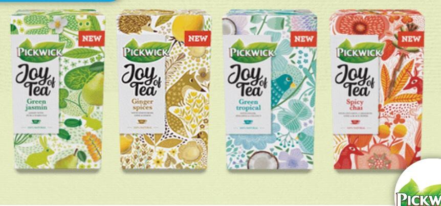 Pickwick Joy of Tea voor €1,- proberen @Scoupy
