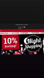 Night Shopping bij LARGE