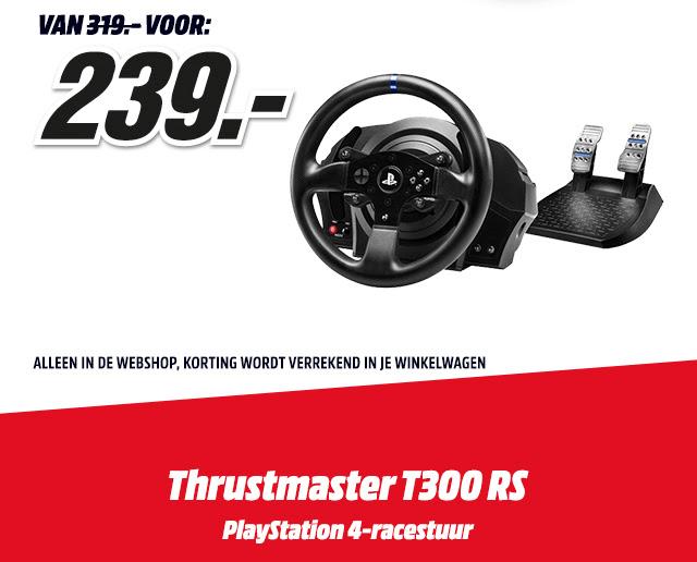 1DagsDeal: Thrustmaster PS4-racestuur voor €239 @ Mediamarkt