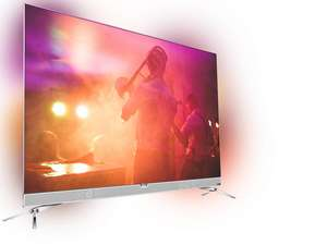"55""Philips OLED met ambilight en soundbar"