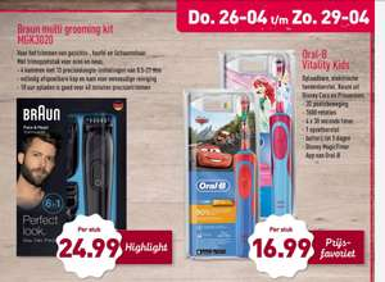 Braun multi grooming kit mgk3020 @ Aldi