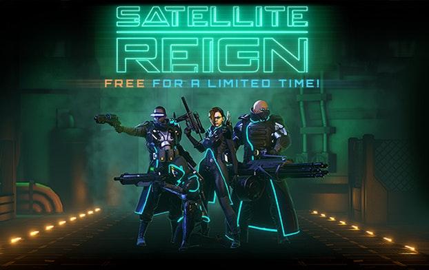 Satellite Reign (Steam key + DRM-free) gratis @ Humble Bundle