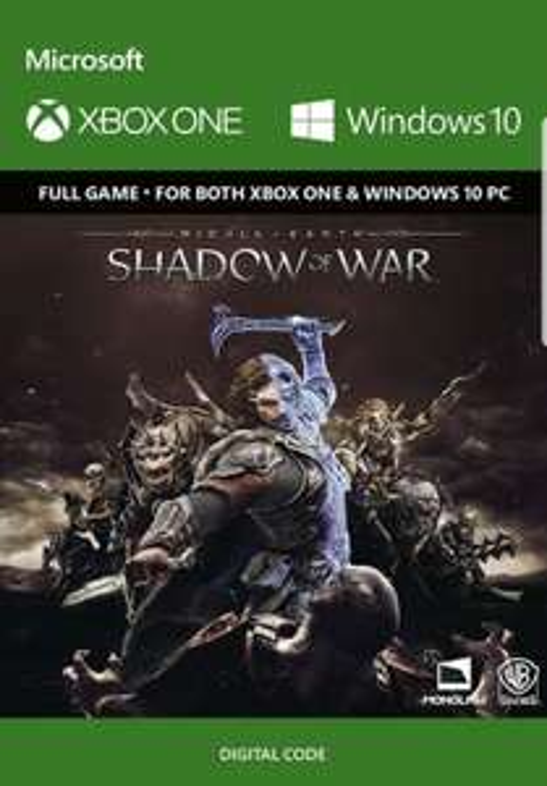 Middle-Earth: Shadow of War XBOX one/PC @ cd keys