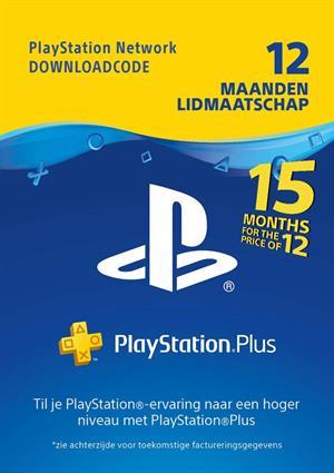Tijdelijk 15 maanden PS Plus voor de prijs van 12 maanden digitale code @ Gamemania