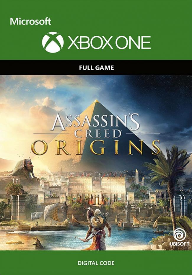 Assassin's Creed Origins (Xbox One digital code) + Assasin's Creed Unity (Xbox One digital code) @ CDkeys