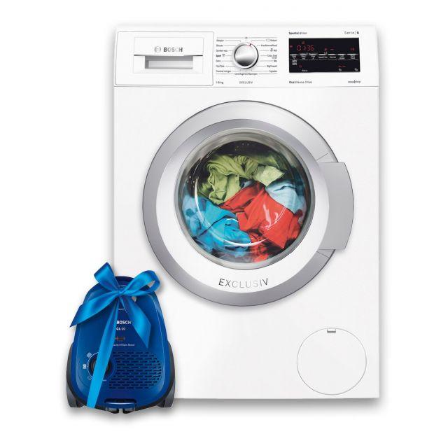 Diverse bundeldeals bij Expert bijvoorbeeld: de Bosch Wasmachine + gratis stofzuiger voor 525 euro