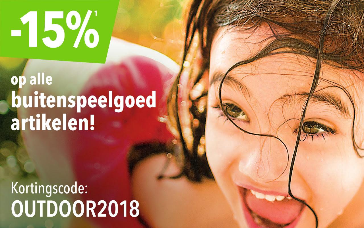 """Vandaag -15% op Buitenspeegoed met code: OUTDOOR2018 @ Toys""""R""""Us"""