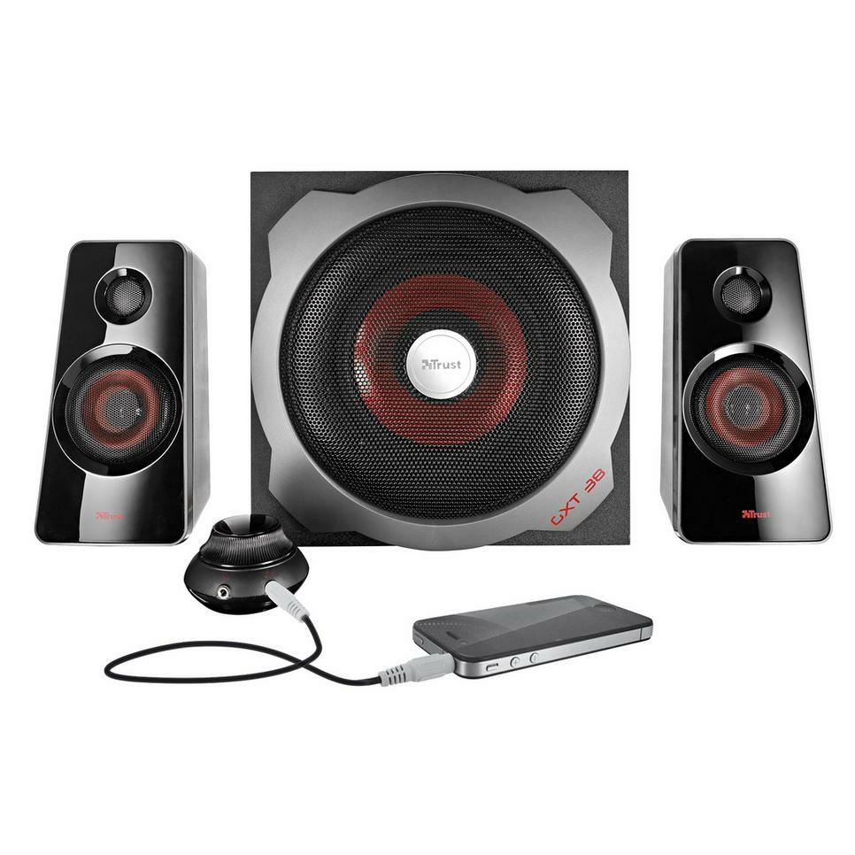Trust GXT 38, 2.1 speaker set
