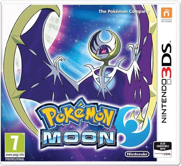 Pokémon Moon (3DS) voor €23,50 @ Coolshop