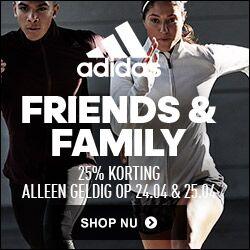 Outlet 25% extra korting + 25% korting op selectie artikelen (5500+) @ adidas