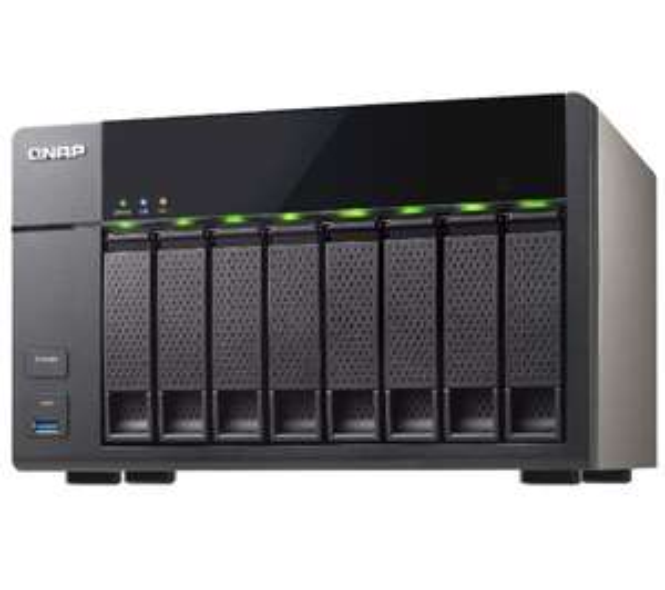 QNAP TS-851 (NAS Behuizing voor 8x SATA Harddisks) voor € 365,42 @ Pixmania
