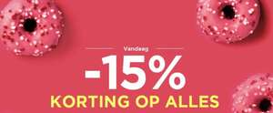Vandaag 15% (extra) korting @ Outlet Avenue