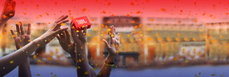 Gratis rode JBL Go+ speaker bij aankoop vanaf €139 @ JBL