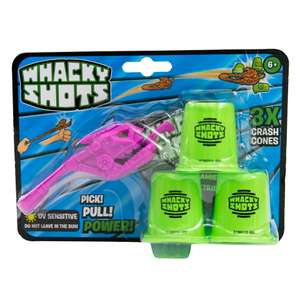 Whacky Shots Single Pack voor €0,88 @ Intertoys/Bart Smit