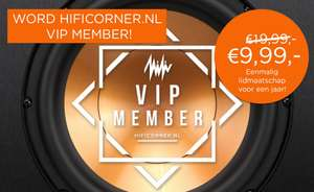 Exclusieve korting op VIP-abbonement Hificorner