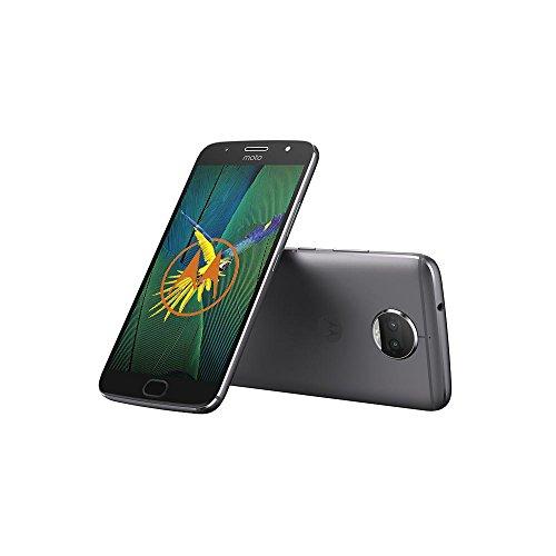 Motorola Moto G5s Plus Smartphone 13,97 cm (5,5 inch), (13MP Camera, 3GB RAM/32GB, Android) lunar gray