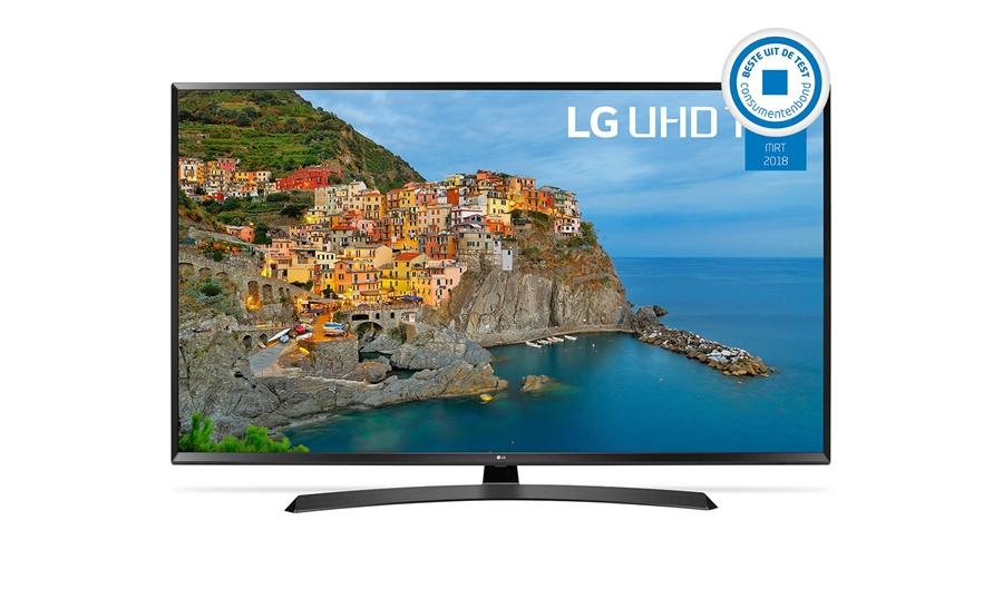 """LG 43"""" 4K Ultra HD Televisie 43UJ635V voor €395 @ EP"""