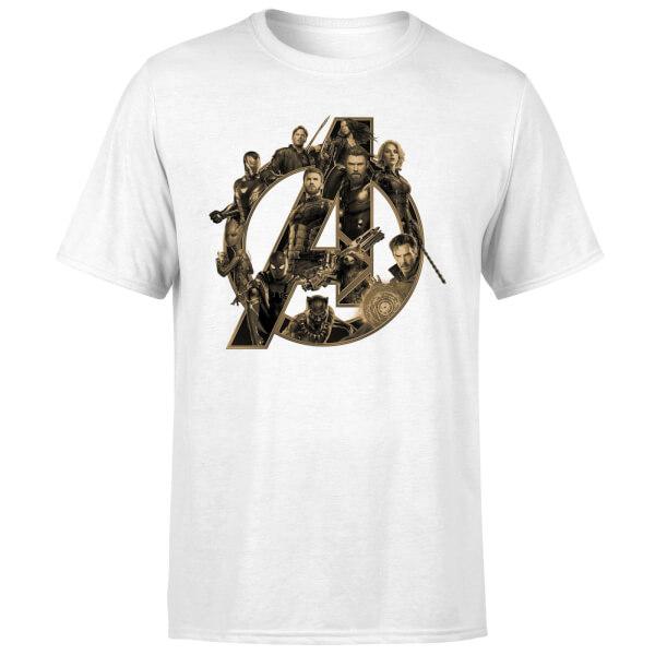Marvel Avengers Infinity War t-shirt voor €10,99 (incl. verzending) met code @ Zavvi