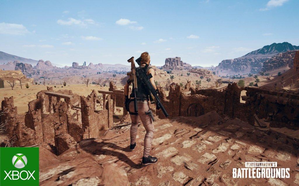 PLAYERUNKNOWN'S BATTLEGROUNDS Miramar map gratis speelbaar @ Xbox