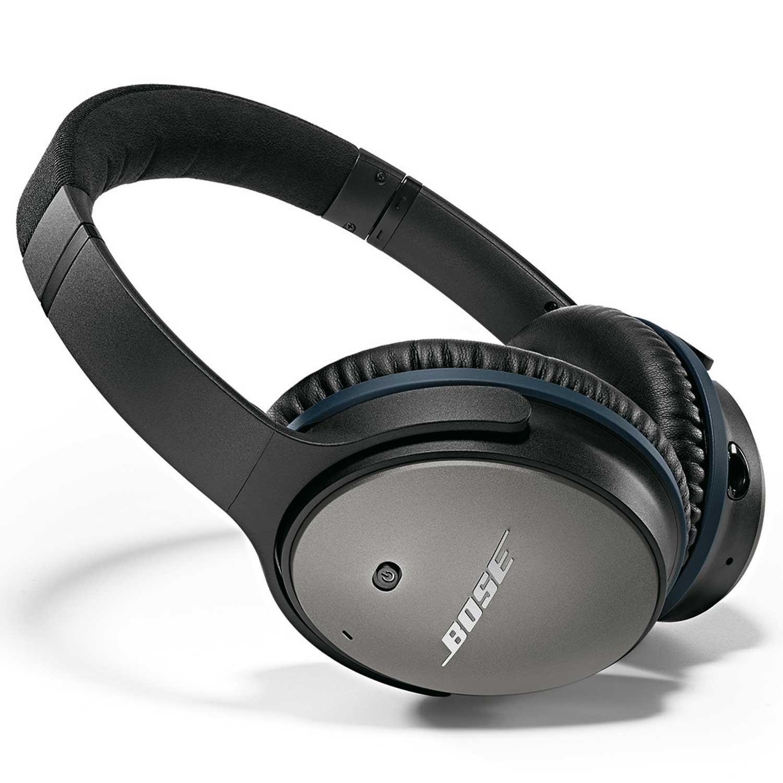 Bose QuietComfort 25 (Zwart) voor 203,15 bij Amazon.es