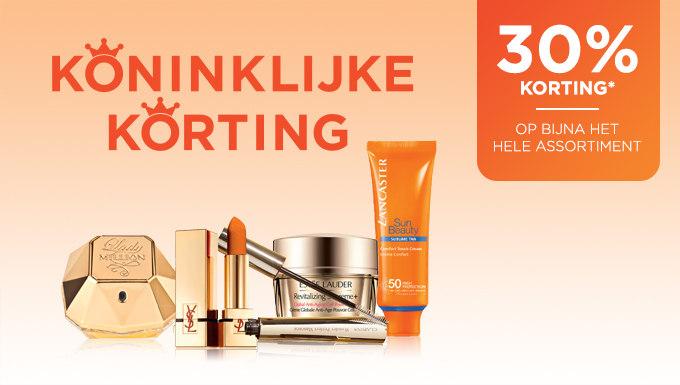 30% Koningsdag korting op bijna alles @ Iciparisxl.nl