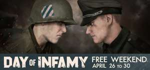 Free weekend Day of Infamy @ Steam