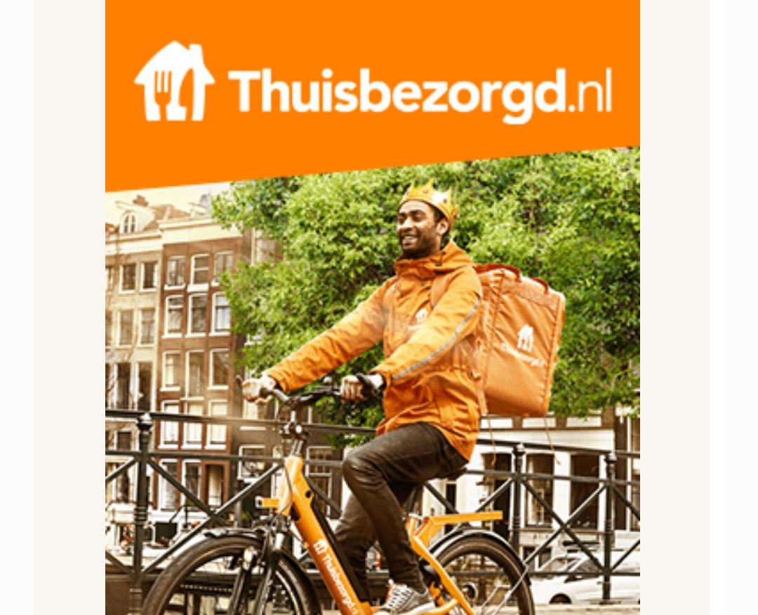 Thuisbezorgd.nl 5 euro korting op je bestelling