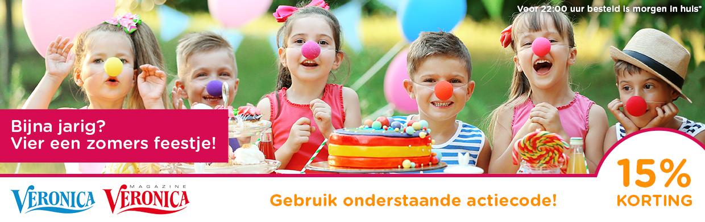 15% korting op verjaardagsversiering @ Feestwinkel.nl