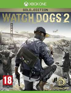 Watch Dogs 2 Gold Edition (Xbox One Nordic) voor €19,95  @ Coolshop