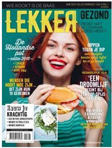 """Gratis digitale editie van blad """" Lekker Gezond """" @ GezondNu"""
