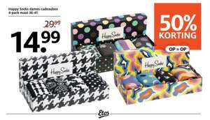 Happy Socks Giftbox (4-Pack) @ Etos