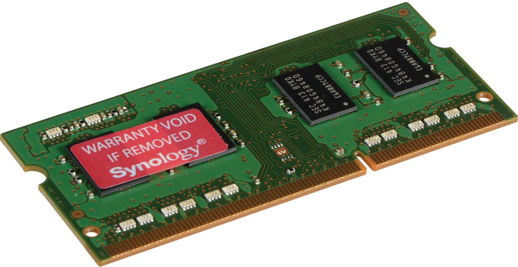 Synology 16GB DDR4 2133MHz ECC geheugenmodule voor €189,99 @ Mycom