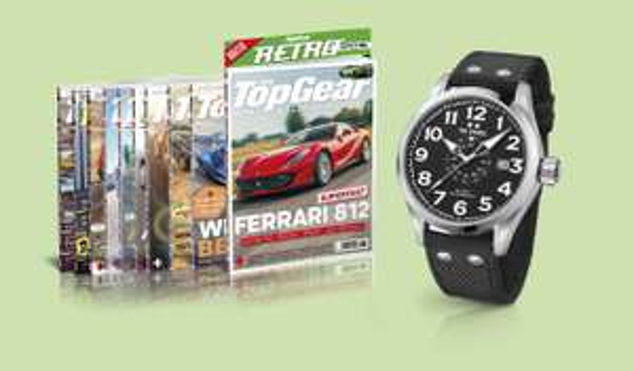 TopGear 2-jarig abo voor € 139,95 + TW Steel Volante VS1 t.w.v. € 189