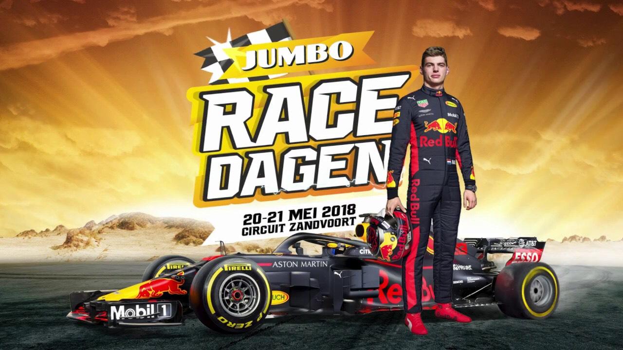 GRATIS Tickets Jumbo Racedagen met Max Verstappen bij aankoop (actie)producten @Jumbo