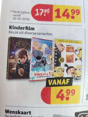 Fantastic Beasts and where to find them + andere dvd's