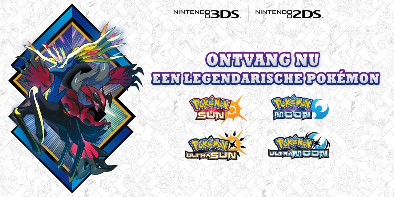 Ontvang de legendarische Pokémon Xerneas of Yveltal!