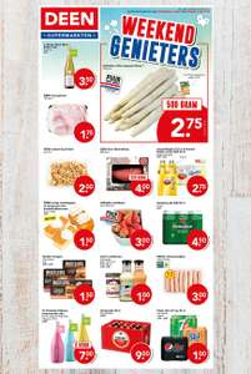 Pepsi 4-pack | Deen Supermarkten