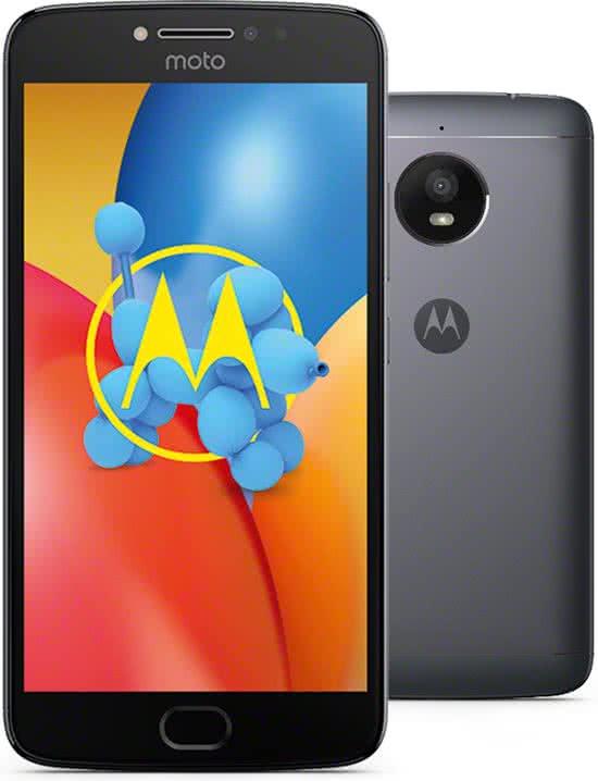 Motorola Moto E4 Plus - 16 GB - grijs of goud voor €99 @ BOL