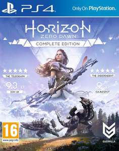 Horizon Zero Dawn Complete Edition (PS4) voor €33,50 @ ShopTo
