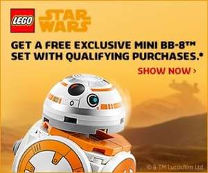 May the Fourth Star Wars offers @ LEGO shop [EU/US/UK]