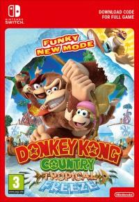 Donkey Kong Country Tropical Freeze voor de Switch [Digitale Download]
