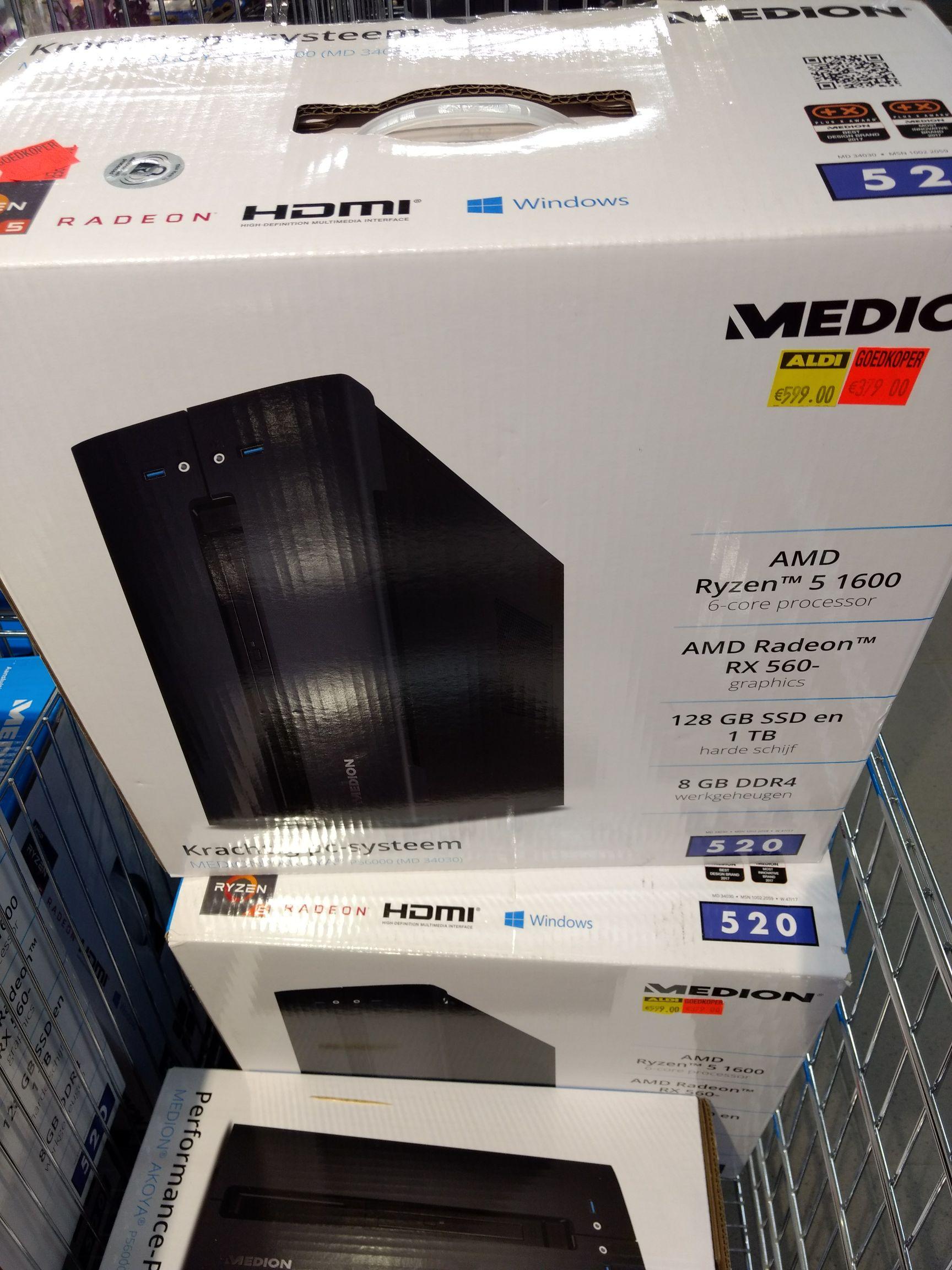 AMD Ryzen 5 1600 desktop instap gamesysteem zeer goede prijs-kwaliteit!